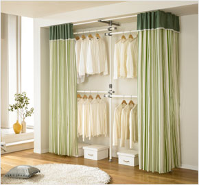 covered clothes rack target fourlevel clothes rack with curtain khaki ls3033 diy home closet furniture by livingstar twolevel