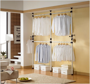 Four-level clothes rack (LS-0636)